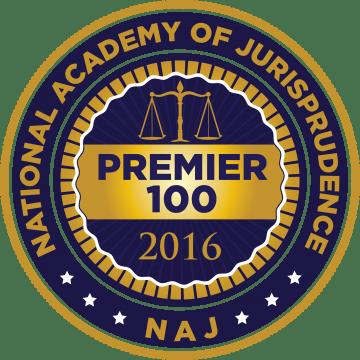 National Academy of Jurisprudence, Premier 100, 2016