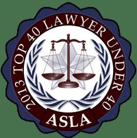 2013 Top 40 Lawyer Under 40 ASLA